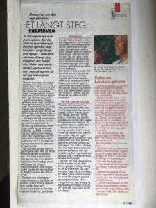 Faksimile fra Kvinner og Klær 1994